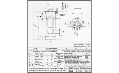 Filtres magnétiques Clarox DN80 233-400 MR image 1