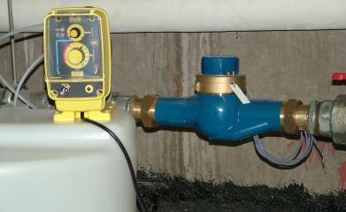Pompe compteur traitement de l'eau image 2